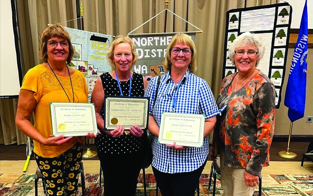 The 81st Anniversary of WAHCE (Wisconsin Association for Home and Community Education, Inc) Annual Meeting and Conference was held in Stevens Point,...