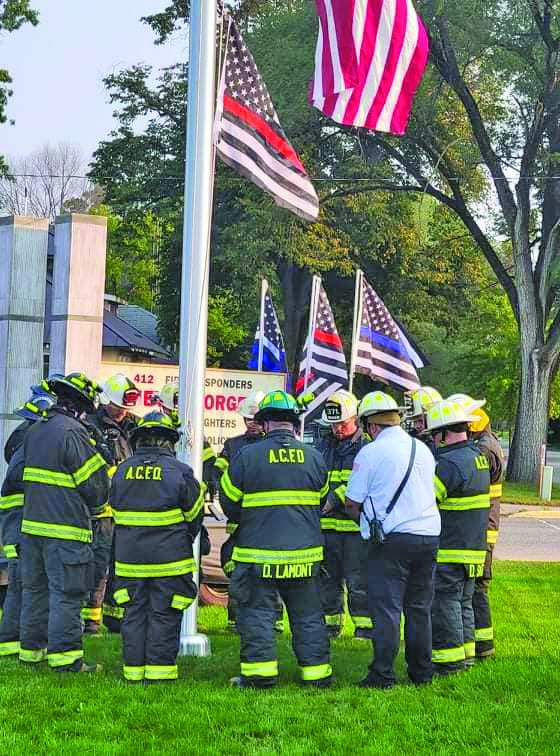 On Saturday 9/11 the Adams County Fire District paid tribute to the fallen from September 11th, 2001 with a small ceremony. The members, fully geared...