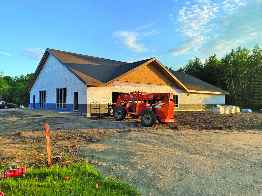 Good weather has kept construction of the new YMCA in the City of Adams on track. The new facility is still scheduled to open on Sept.1, 2021...