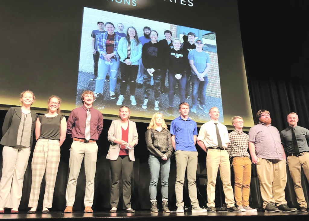 The TEMA (Technology Education and Manufacturing Academy) Class of 2021 Seniors participated in a Capstone event at the AFHS Fine Arts Center on...