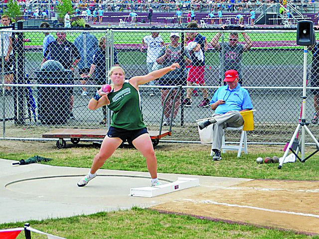 Audra Gallick took home a 5th place finish in the WIAA State Shot Put event. She also broke the school record in discus with a throw of 119 feet 4...
