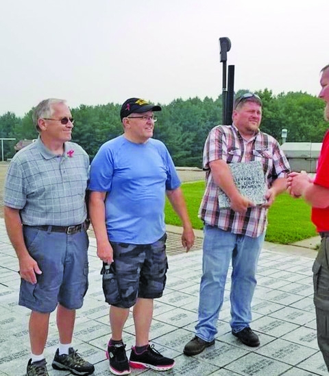 The Waller family, who resides in the Friendship and Arkdale area, were honored during an Honor Stone Ceremony on July 31 at The Highground Veterans...