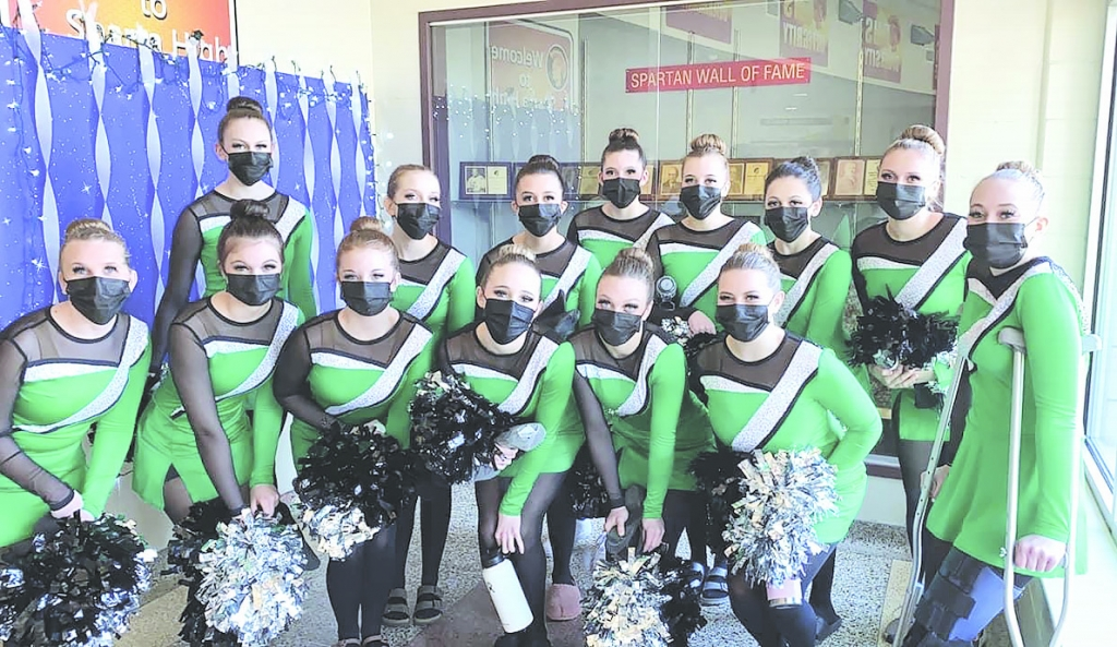 The Adams Friendship Dance Team competed at the Wisconsin Association of Cheer and Pom Coaches (WACPC) Central Regional Competition on Saturday March...